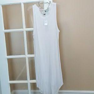 White Tank Dress
